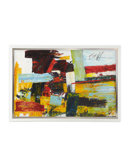 """""""Bold Patchwork"""" Giclee"""