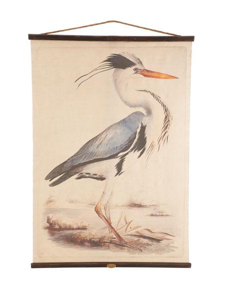 """""""Blue Heron"""" Tapestry"""