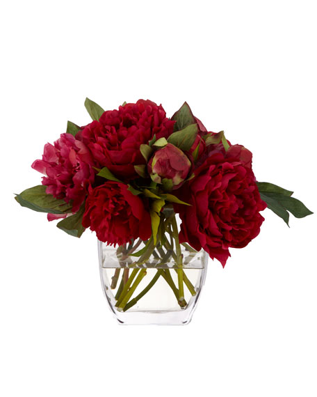 Pink Bouquet Faux Floral