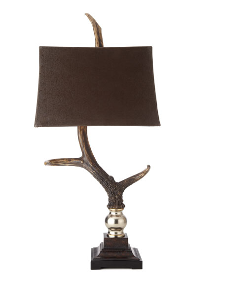 """Stag Horn"" Table Lamp"
