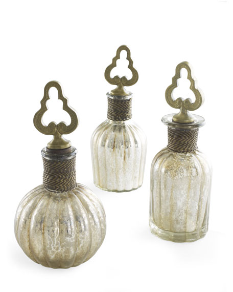 "Three ""Kaho"" Perfume Bottles"