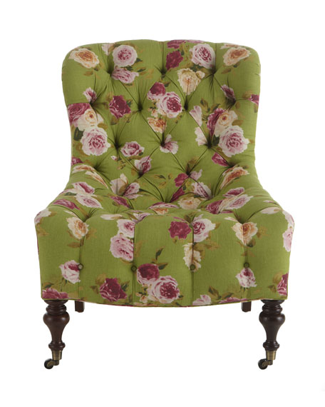 """Tia"" Tufted Chair"