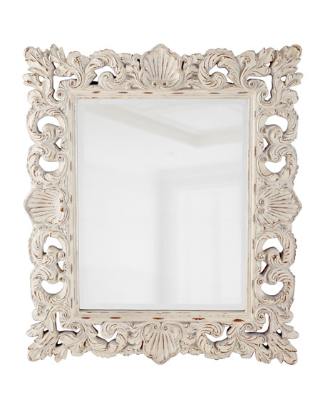"""Crushed Shell"" Mirror"