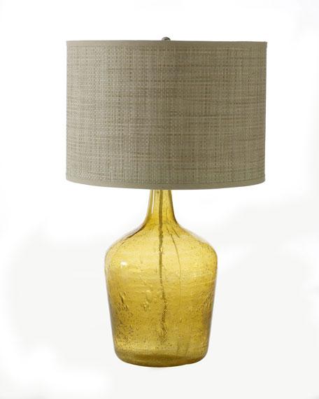 """""""Amber Plum Jar"""" Lamp"""