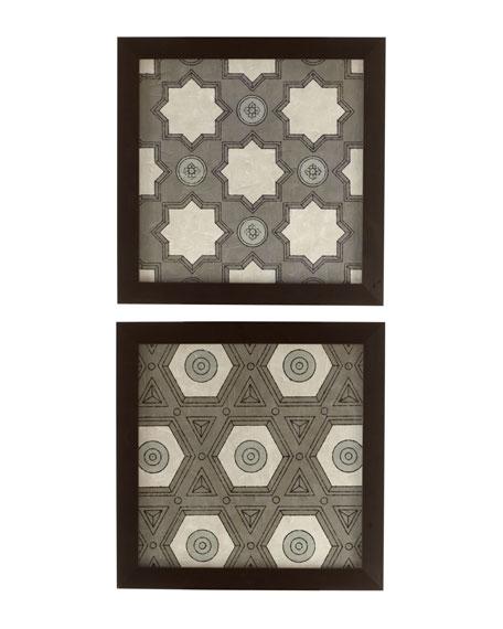 Gray Lattice Prints