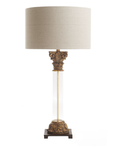 """Capital"" Table Lamp"