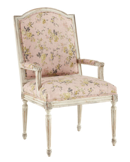 """Antique Rose"" Armchair"