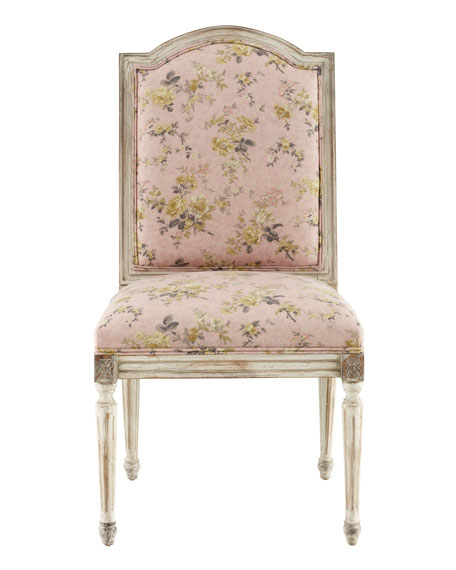 """Antique Rose"" Side Chair"
