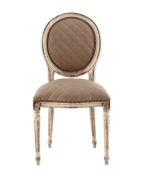 Limestone Side Chair
