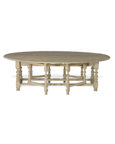 """William & Mary"" Gateleg Table"