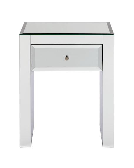 KACIE MIRRORED TABLE