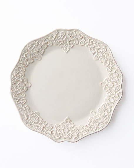"""16-Piece """"Bianca Medallion"""" Dinnerware Service"""