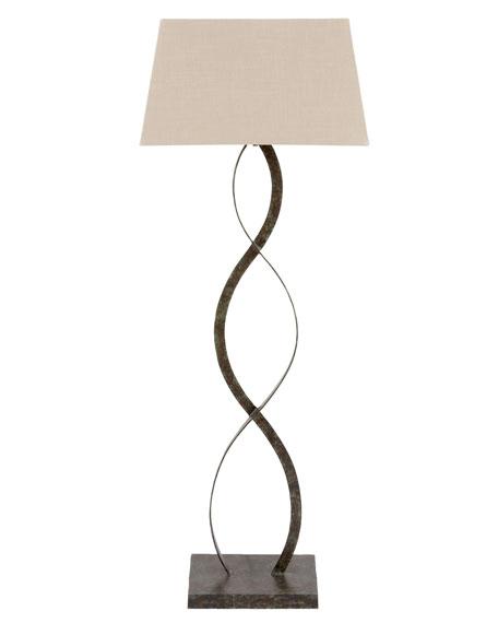"""Belmont Bronze Verdi"" Iron Floor Lamp"