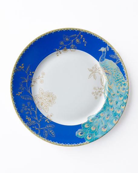 """Peacock Garden"" 16-Piece Dinnerware Service"