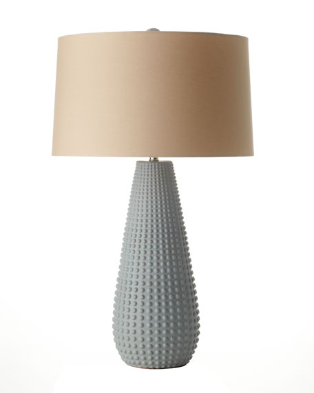 """Xavier"" Matte Porcelain Table Lamp"