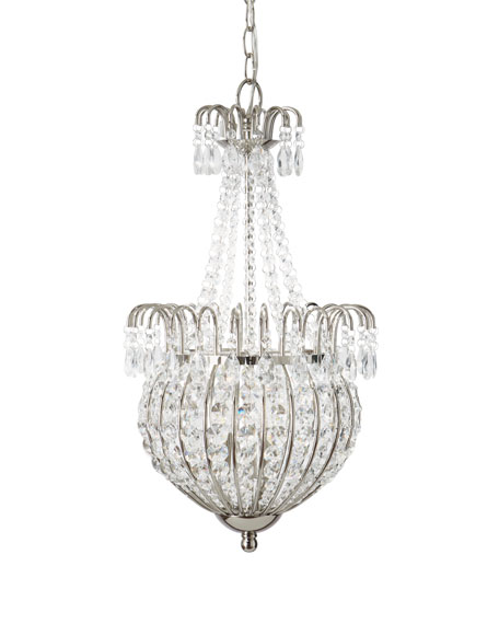 Crystal Teardrop Pendant Light