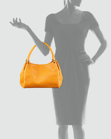 Large East-West Hobo Bag