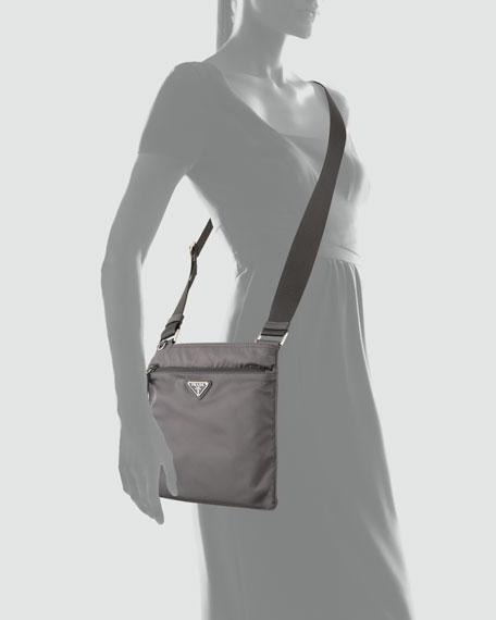 Vela Flat Messenger Bag