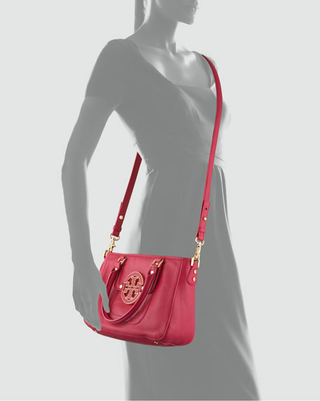 Amanda Mini Satchel Bag, Magenta