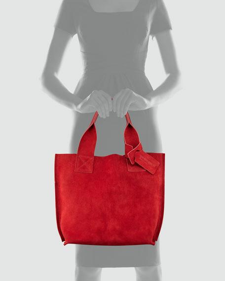 Shopper Small Tote Bag, Chili