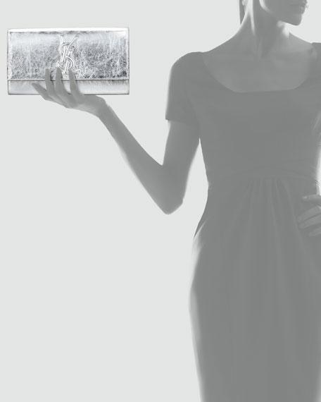 Belle De Jour Clutch Bag, Silver