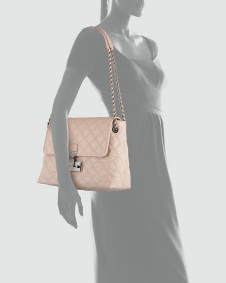 Baroque Single Extra-Large Bag, Blush