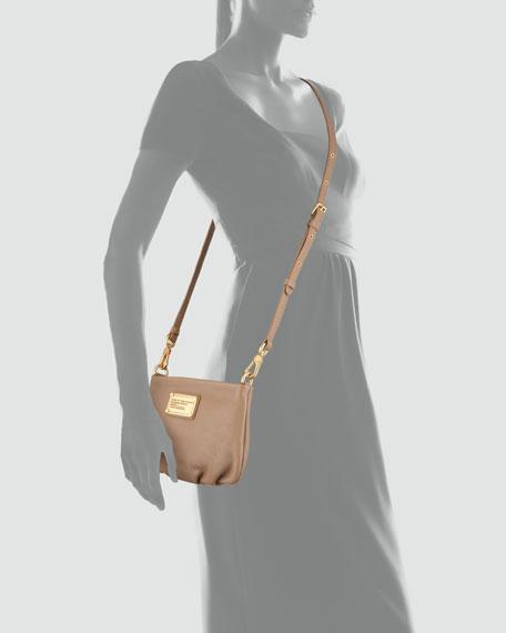Classic Q Percy Crossbody Bag, Praline