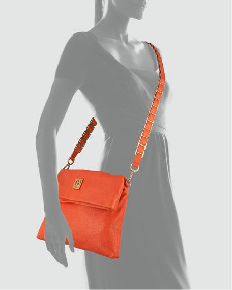 Louisa Messenger Bag, Flame Red