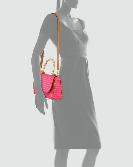 Simba Squishee Shoulder Bag, Fuchsia