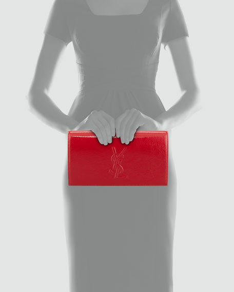 Belle De Jour Clutch Bag, Rouge