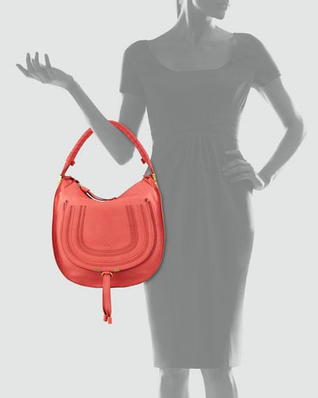 Marcie Medium Hobo Bag, Paradis
