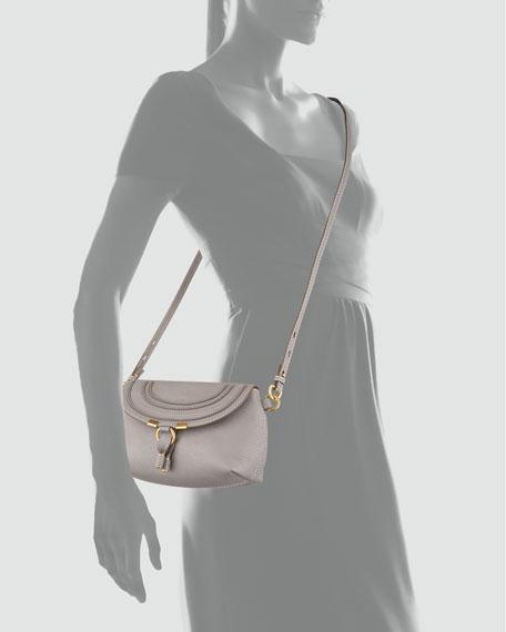 Marcie Pouchette Crossbody Bag, Gray