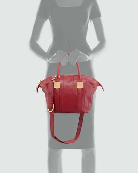 Morrison Small Tote Bag, Scarlet Red