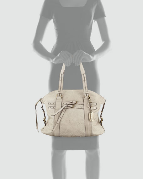 Billy Belt Satchel, Taupe