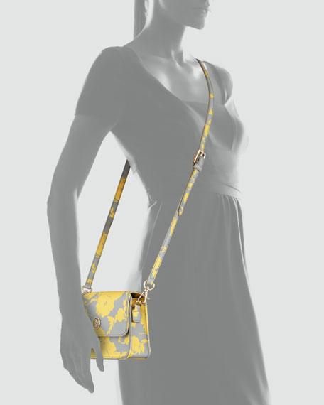 Robinson Floral-Print Mini Crossbody Bag, Daisy Multi