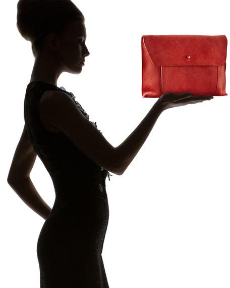 Large Flap Clutch Bag