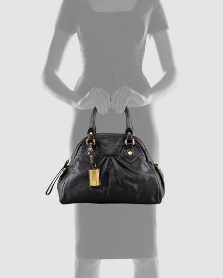 Baby Aidan Satchel Bag, Black