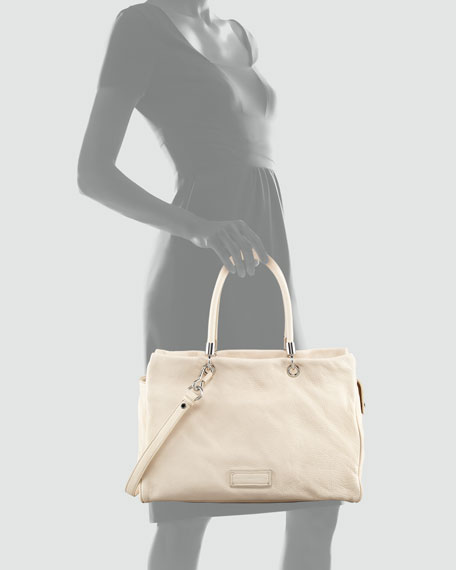 Too Hot To Handle Tote Bag, Vanilla
