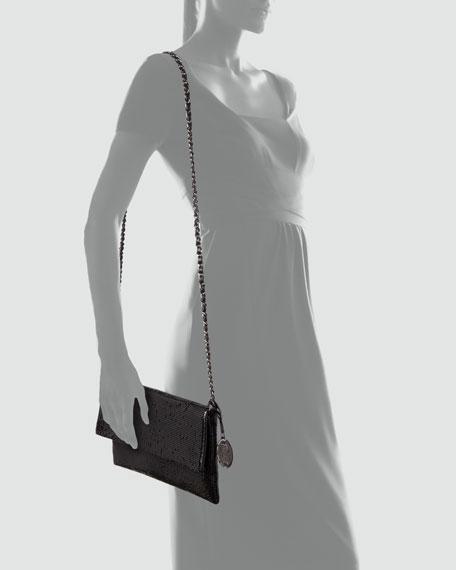 Vivian Metal Clutch Bag