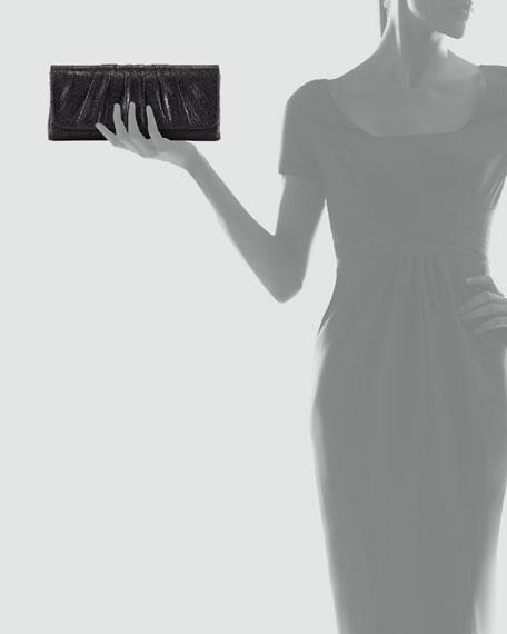 Caroline Lambskin Clutch Bag