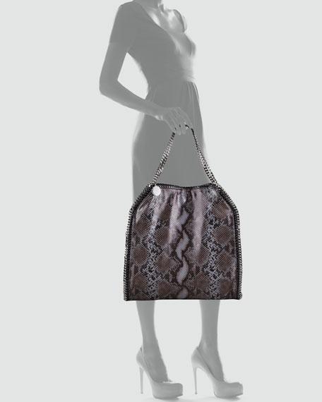 Faux Python Falabella Tote Bag, Large