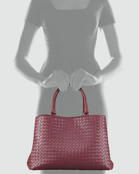 Double-Compartment Tote Bag