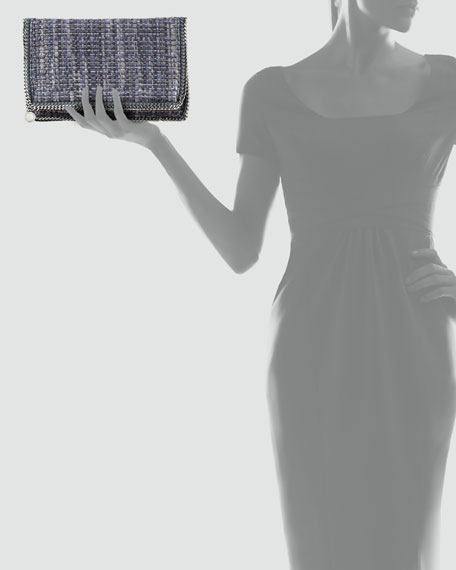 Boucle Falabella Fold-Over Clutch Bag