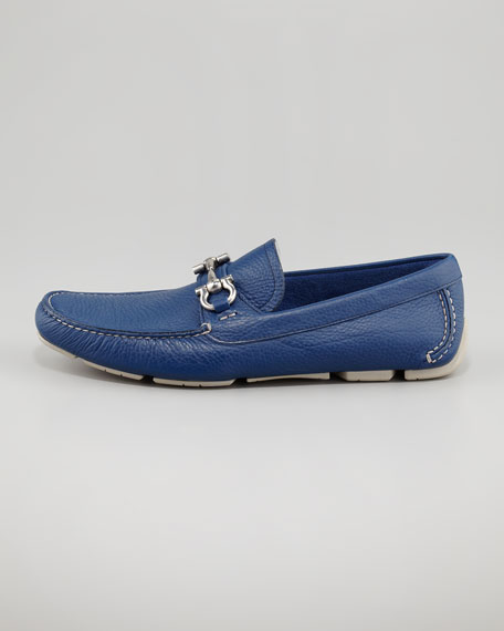 Parigi Pebbled Driver, Blue