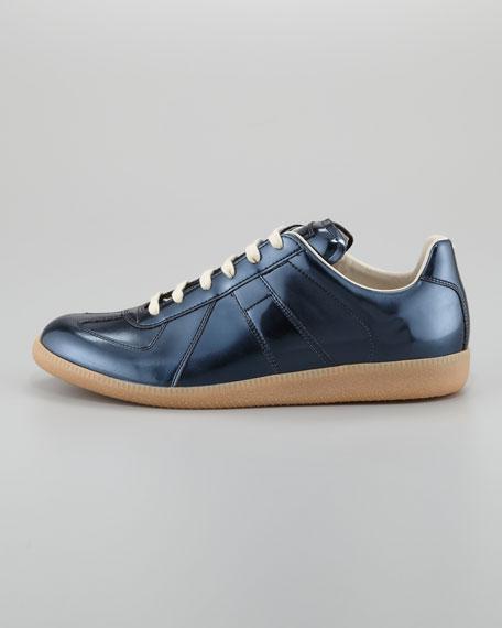 Patent Replica Low-Top Sneaker, Gunmetal