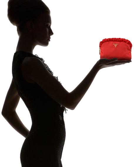 Ruffle Cosmetic Case