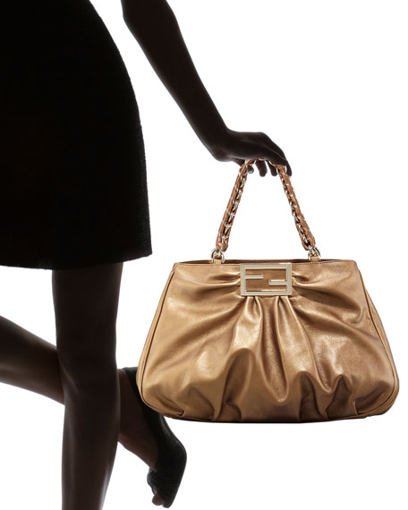 Metallic Mia Shoulder Bag