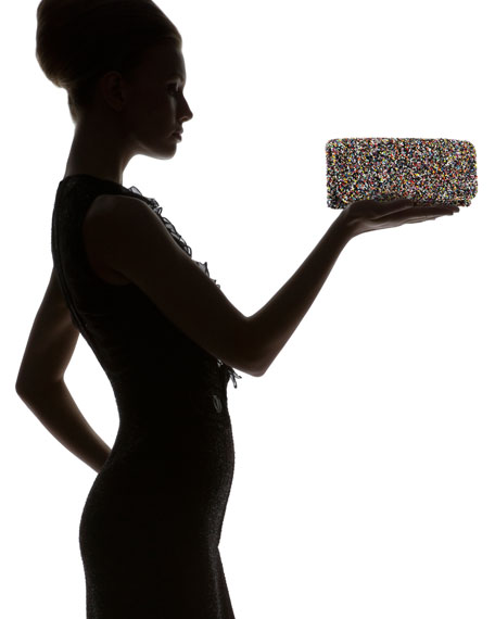 Mixed Beaded Clutch
