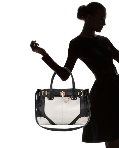 Zoe Canvas Tote Bag