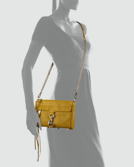 Mini MAC Chain-Strap Bag, Yellow
